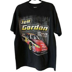 NASCAR Jeff Gordon #24 Graphic T Shirt Mens XL